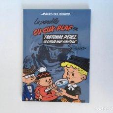 Cómics: MAGOS DEL HUMOR 129: LA PANDILLA CU-CUX-PLAF EN, FANTOMAS PÉREZ, SOCIEDAD MUY LIMITADA DE SCHMIDT.. Lote 195127932