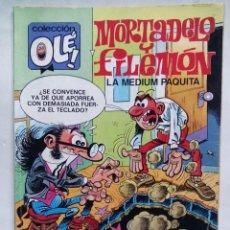 Cómics: MORTADELO Y FILEMÓN. LA MEDIUM PAQUITA. COLECCIÓN OLÉ Nº 320-M.73. ESPAÑA 1988. . Lote 195217841