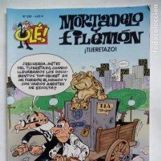 Cómics: MORTADELO Y FILEMÓN. ¡TIJERETAZO!. OLÉ Nº 200. EDICIONES B. ESPAÑA 2015.. Lote 195223281
