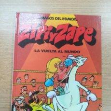 Cómics: ZIPI Y ZAPE LA VUELTA AL MUNDO (MAGOS DEL HUMOR #13). Lote 195231620