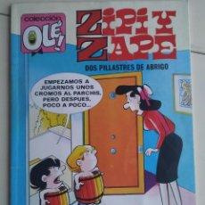 Cómics: OLÉ! ZIPI Y ZAPE - DOS PILLASTRES DE ABRIGO - EDICIONES B - Z.130 Nº 156 - 2ª EDICIÓN 1992. Lote 195238950