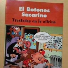 Cómics: EL BOTONES SACARINO - TRASTADAS EN LA OFICINA. Lote 195268053