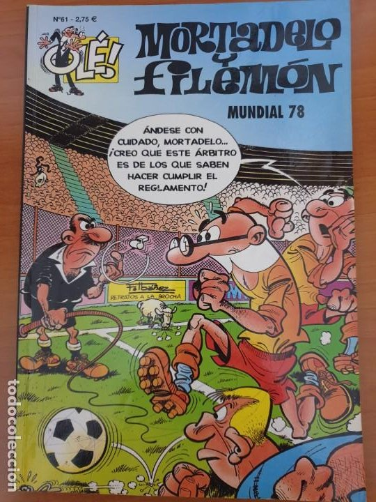 Cómics: LOTE 151 N° MORTADELO Y FILEMÓN OLE - Foto 8 - 195340827