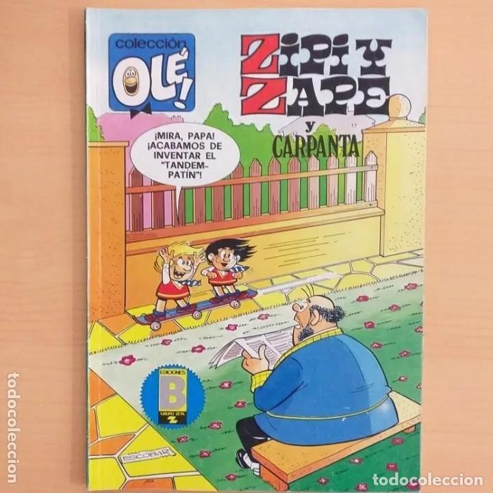 ZIPI Y ZAPE Y CARPANTE. COLECCION OLE. NUM 190-Z.40 (Tebeos y Comics - Ediciones B - Clásicos Españoles)