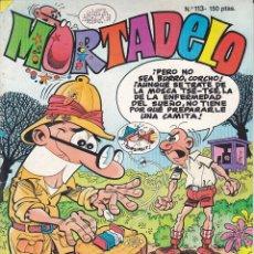 Cómics: COMIC MORTADELO Nº 113. Lote 195364286