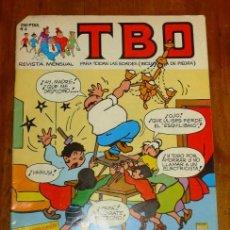 Cómics: TBO : REVISTA MENSUAL. Nº 4 ; MAYO 1988. Lote 195384798