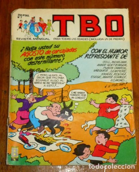 TBO : REVISTA MENSUAL. Nº 7 ; VIII 1988 (Tebeos y Comics - Ediciones B - Clásicos Españoles)