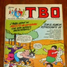Cómics: TBO : REVISTA MENSUAL. Nº 7 ; VIII 1988. Lote 195384852