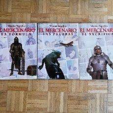 Cómics: EL MERCENARIO VICENTE SEGRELLES PRIMERA EDICION 1993 EL PUEBLO DEL FUEGO SAGRADO LA FORMULA . Lote 195386675
