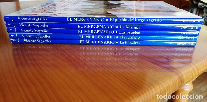 Cómics: El Mercenario Vicente Segrelles Primera Edicion 1993 El Pueblo del Fuego Sagrado La Formula - Foto 2 - 195386675