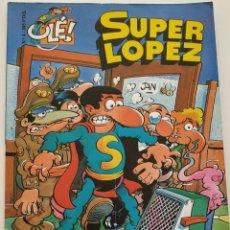 Cómics: CÓMIC OLÉ! SUPER LÓPEZ Nº 4 LOS ALIENÍGENAS - GRUPO ZETA EDICIONES B 1997 . Lote 195433063