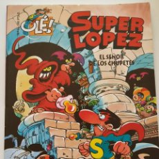 Cómics: CÓMIC OLÉ! SUPER LÓPEZ Nº 5 EL SEÑOR DE LOS CHUPETES - GRUPO ZETA EDICIONES B 1998. Lote 195433663