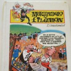 Cómics: CÓMIC MORTADELO Y FILEMÓN EL TRASTOMÓVIL - EDICIONES B - PLURAL 2000 TAPA DURA. Lote 195434422