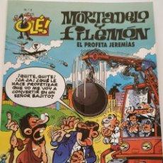 Cómics: CÓMIC OLÉ! MORTADELO Y FILEMÓN Nº 2 EL PROFETA JEREMÍAS - GRUPO ZETA EDICIONES B 1999. Lote 195438078