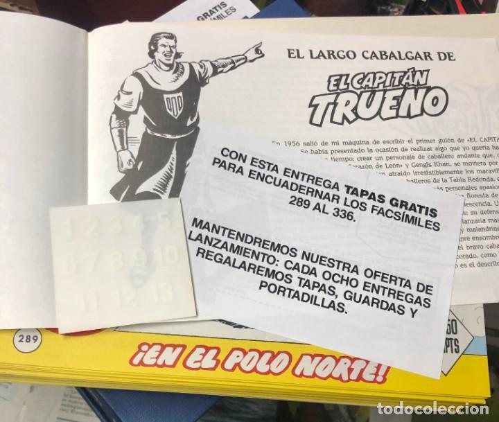 Cómics: EL CAPITAN TRUENO COMPLETA + 6 (TODOS) LOS EXTRAS. EDICIONES B 1991. NUEVA DE QUIOSCO SIN LEER - Foto 2 - 195440593