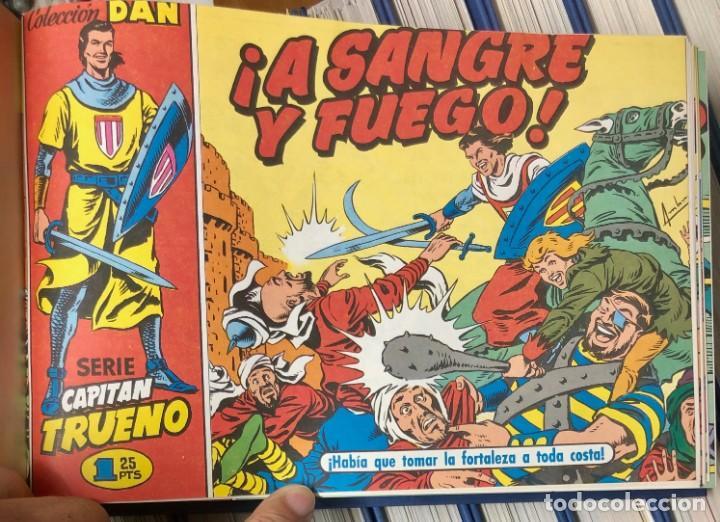 Cómics: EL CAPITAN TRUENO COMPLETA + 6 (TODOS) LOS EXTRAS. EDICIONES B 1991. NUEVA DE QUIOSCO SIN LEER - Foto 3 - 195440593