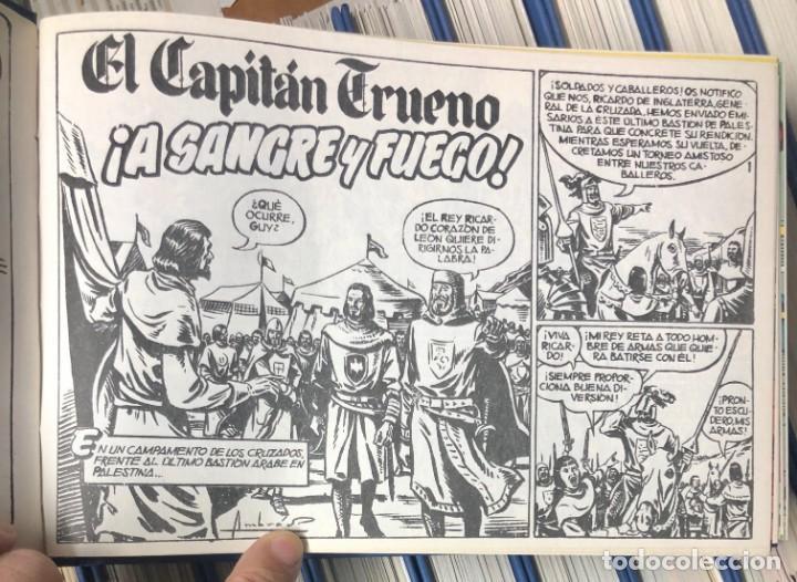 Cómics: EL CAPITAN TRUENO COMPLETA + 6 (TODOS) LOS EXTRAS. EDICIONES B 1991. NUEVA DE QUIOSCO SIN LEER - Foto 4 - 195440593