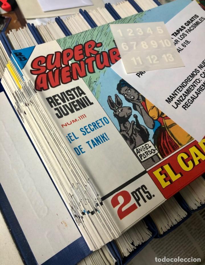Cómics: EL CAPITAN TRUENO COMPLETA + 6 (TODOS) LOS EXTRAS. EDICIONES B 1991. NUEVA DE QUIOSCO SIN LEER - Foto 9 - 195440593