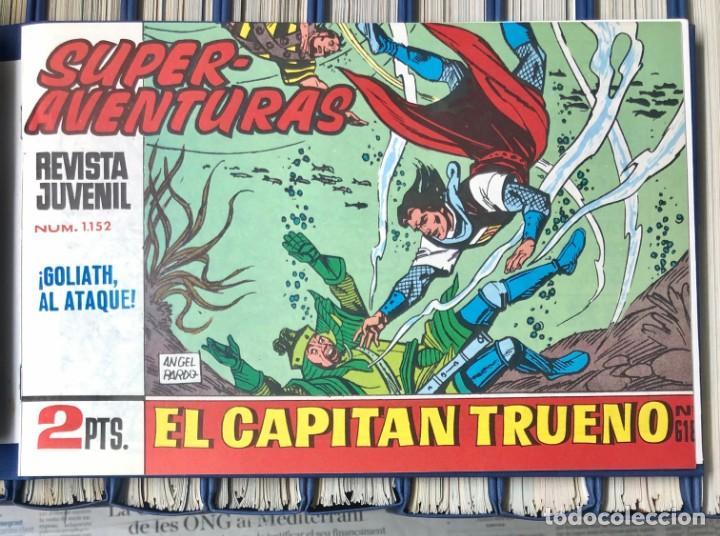 Cómics: EL CAPITAN TRUENO COMPLETA + 6 (TODOS) LOS EXTRAS. EDICIONES B 1991. NUEVA DE QUIOSCO SIN LEER - Foto 11 - 195440593