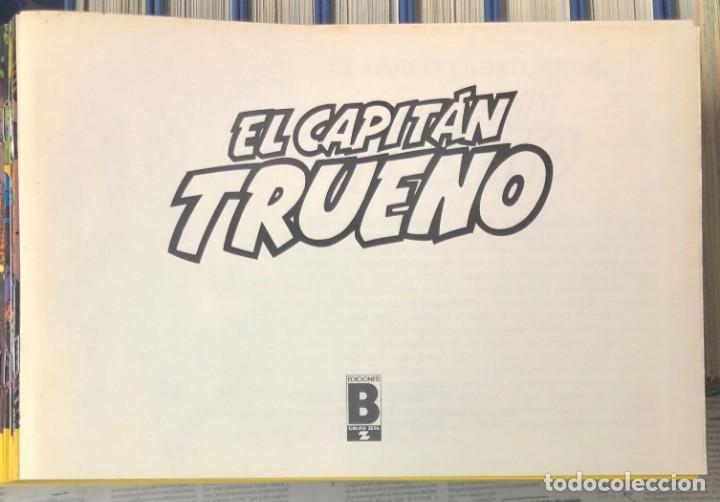 Cómics: EL CAPITAN TRUENO COMPLETA + 6 (TODOS) LOS EXTRAS. EDICIONES B 1991. NUEVA DE QUIOSCO SIN LEER - Foto 17 - 195440593