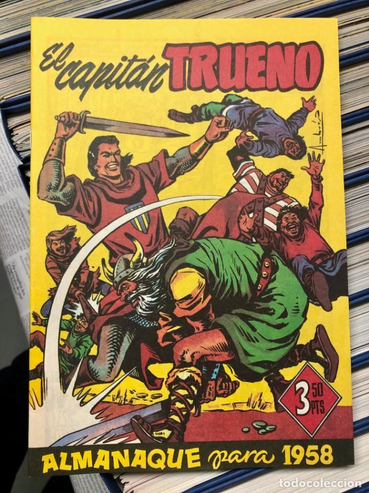 Cómics: EL CAPITAN TRUENO COMPLETA + 6 (TODOS) LOS EXTRAS. EDICIONES B 1991. NUEVA DE QUIOSCO SIN LEER - Foto 18 - 195440593