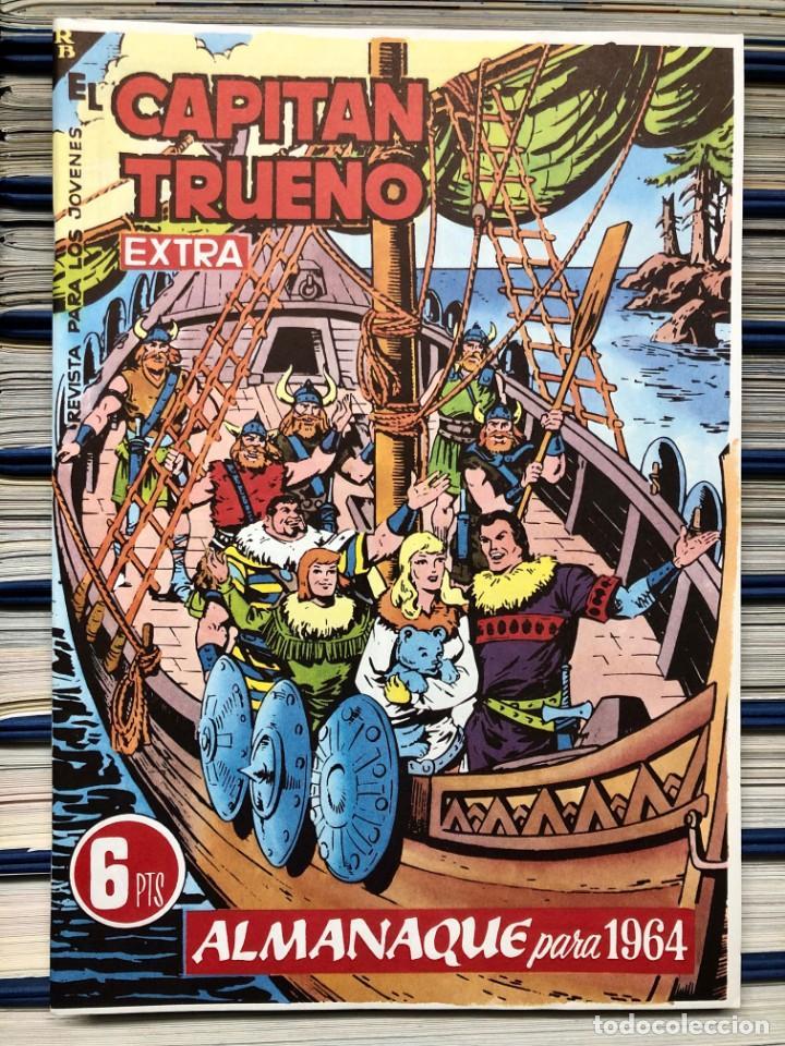 Cómics: EL CAPITAN TRUENO COMPLETA + 6 (TODOS) LOS EXTRAS. EDICIONES B 1991. NUEVA DE QUIOSCO SIN LEER - Foto 22 - 195440593