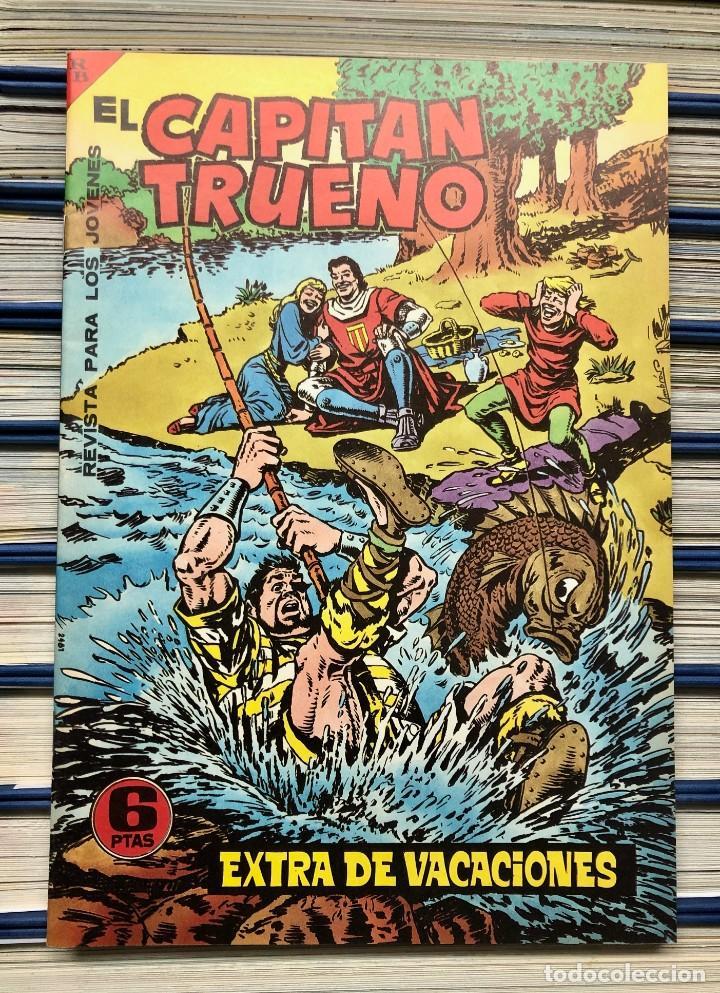 Cómics: EL CAPITAN TRUENO COMPLETA + 6 (TODOS) LOS EXTRAS. EDICIONES B 1991. NUEVA DE QUIOSCO SIN LEER - Foto 24 - 195440593