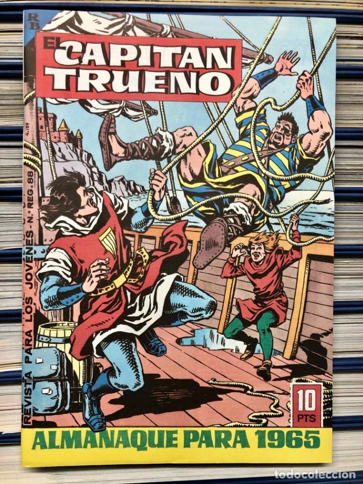 Cómics: EL CAPITAN TRUENO COMPLETA + 6 (TODOS) LOS EXTRAS. EDICIONES B 1991. NUEVA DE QUIOSCO SIN LEER - Foto 26 - 195440593