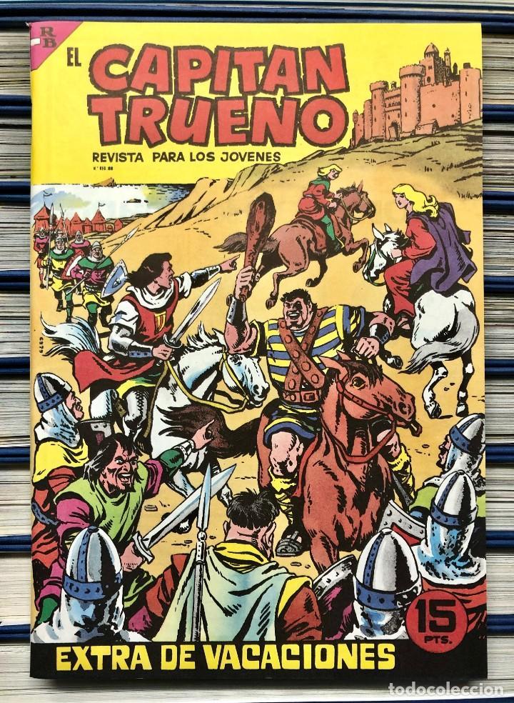 Cómics: EL CAPITAN TRUENO COMPLETA + 6 (TODOS) LOS EXTRAS. EDICIONES B 1991. NUEVA DE QUIOSCO SIN LEER - Foto 29 - 195440593