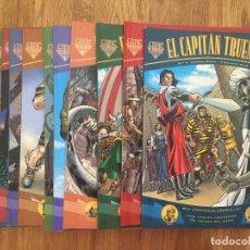 Cómics: LOTE 13 EL CAPITAN TRUENO EXTRA (DEL 1 AL 12 + 17) - VICTOR MORA / FUENTES MAN - EDICIONES B - GCH1. Lote 195466526