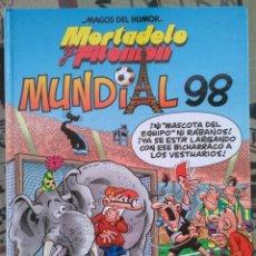 Cómics: MORTADELO Y FILEMON. MUNDIAL 98.. Lote 195625465