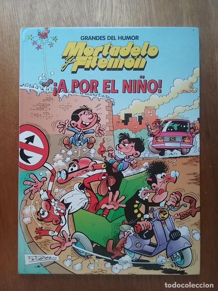 MORTADELO Y FILEMON, A POR EL NIÑO, GRANDES DEL HUMOR 9, EL PERIODICO, EDICIONES B, 1996 (Tebeos y Comics - Ediciones B - Humor)