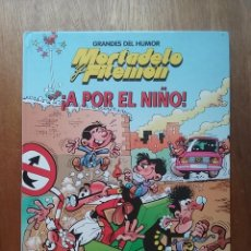 Cómics: MORTADELO Y FILEMON, A POR EL NIÑO, GRANDES DEL HUMOR 9, EL PERIODICO, EDICIONES B, 1996. Lote 195672956