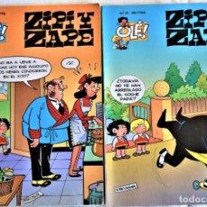 Cómics: ZIPI Y ZAPE Nº 36 Y 39 - OLÉ! - 1º EDICION 1995 - ESCOBAR - TAPA BALDA. Lote 195812220