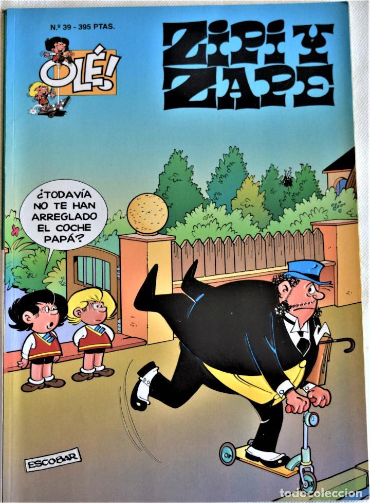 Cómics: ZIPI Y ZAPE Nº 36 Y 39 - OLÉ! - 1º EDICION 1995 - ESCOBAR - TAPA BALDA - Foto 3 - 195812220