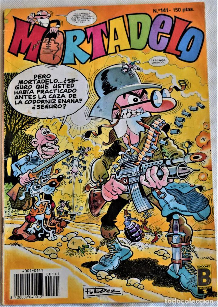 MORTADELO Nº 141 - EDICIONES B - TAPA BLANDA (Tebeos y Comics - Ediciones B - Humor)