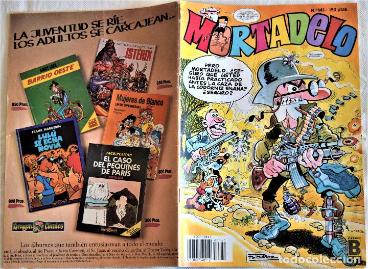Cómics: MORTADELO Nº 141 - EDICIONES B - TAPA BLANDA - Foto 2 - 195815320