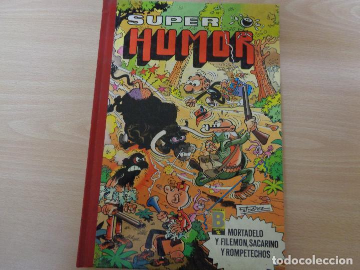 SUPER HUMOR Nº 33. EDITA EDICIONES B 1989. BUEN ESTADO (Tebeos y Comics - Ediciones B - Humor)