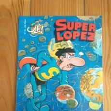 Cómics: SUPER LÓPEZ Nº 32: LAS MINAS DEL REY SOPLOMÓN. Lote 196148376
