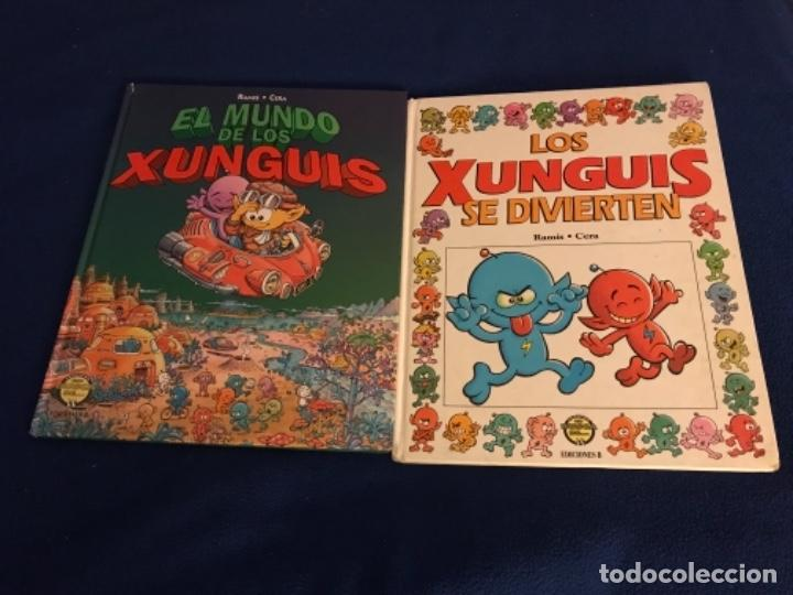 EL MUNDO DE LOS XUNGUIS Y SE DIVIERTEN 1ª EDICION EDICIONES B (Tebeos y Comics - Ediciones B - Otros)