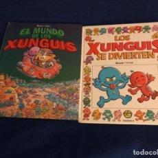 Cómics: EL MUNDO DE LOS XUNGUIS Y SE DIVIERTEN 1ª EDICION EDICIONES B. Lote 196448142