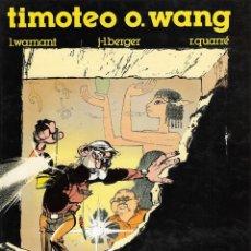 Cómics: TIMOTEO O. WANG - Nº 1 - LA ESTATUA VIVIENTE - EDICIONES B / GRUPO Z - BARCELONA, 1ª EDICIÓN, 1990.. Lote 196533287