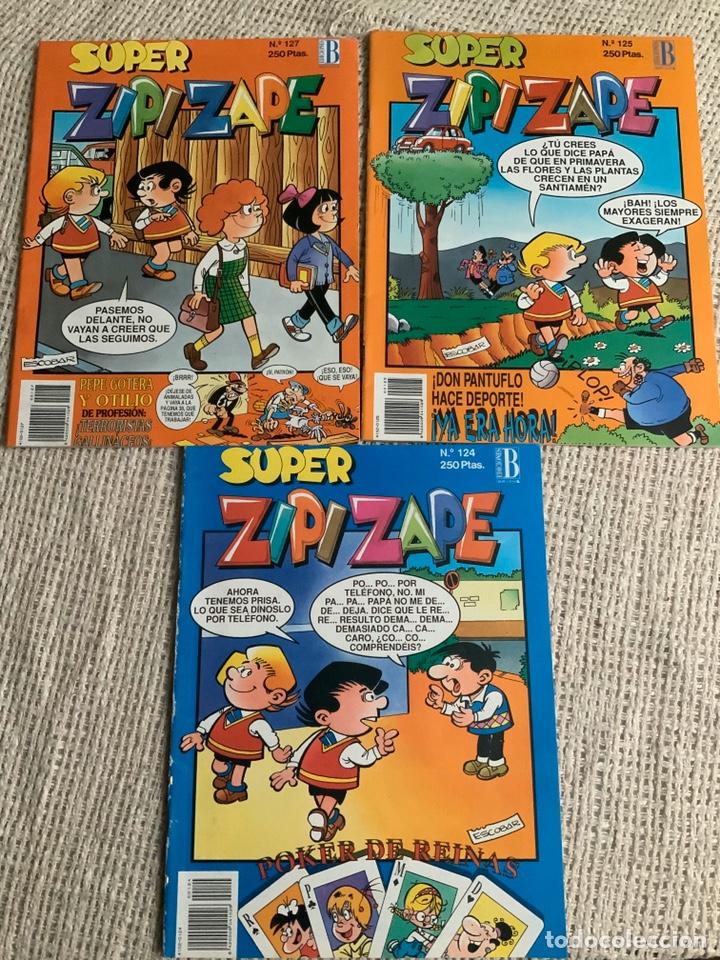 Cómics: SUPER ZIPI ZAPE , LOTE DE Nº 12 EJEMPLARES - EDITA : EDICIONES B - Foto 5 - 194189206