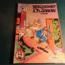 Cómics: COLECCION OLE. MORTADELO. Nº 83. EDICIONES B. PORTADA EN RELIEVE. Lote 196648548