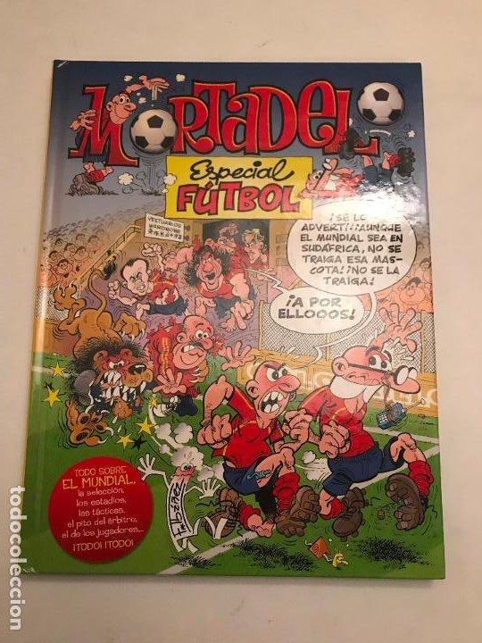MORTADELO ESPECIAL FUTBOL. 1ª EDICION 2010. NUEVO (Tebeos y Comics - Ediciones B - Clásicos Españoles)