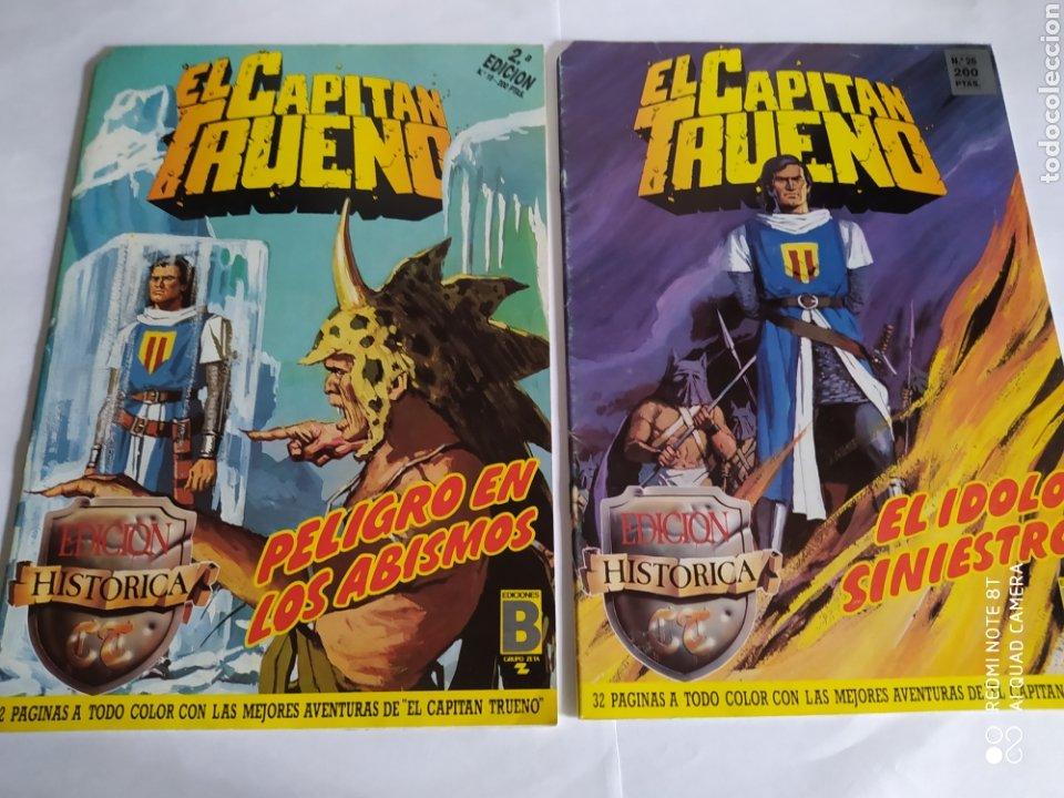 Cómics: El Capitán Trueno, lote de 7 números. Sueltos a 1.50 €. - Foto 2 - 197417173