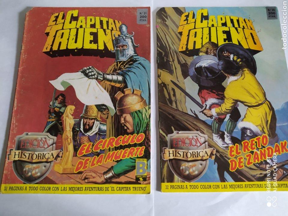 Cómics: El Capitán Trueno, lote de 7 números. Sueltos a 1.50 €. - Foto 4 - 197417173