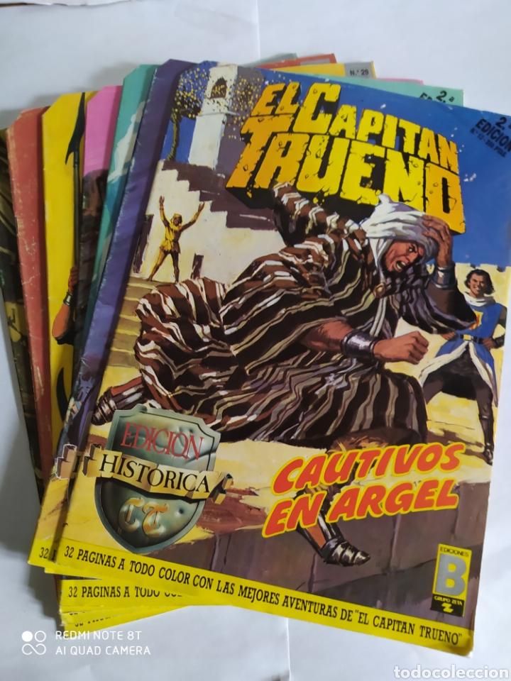 EL CAPITÁN TRUENO, LOTE DE 7 NÚMEROS. SUELTOS A 1.50 €. (Tebeos y Comics - Ediciones B - Otros)