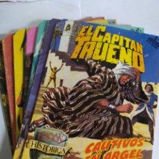 Cómics: EL CAPITÁN TRUENO, LOTE DE 7 NÚMEROS. SUELTOS A 1.50 €.. Lote 197417173