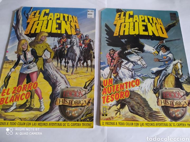 Cómics: El Capitán Trueno, lote de 7 números. Sueltos a 1,50 €. - Foto 2 - 197420162
